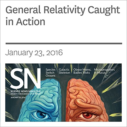 General Relativity Caught in Action audiobook cover art