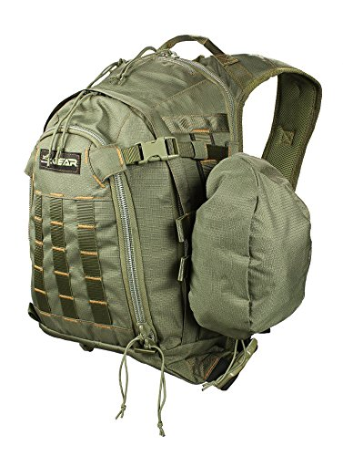 XOP-XTREME OUTDOOR PRODUCTS Shadow Bow Hunting Backpack - Tactical Back Pack for Hunting, Fishing, Camping and Hiking - Archery Backpack, Green