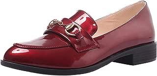Zanpa Women Casual Brogue Shoes Flats Slip On