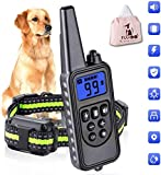 FUUL Dog Training Collar, 800m Shock Collar for Large Medium Small Dogs,