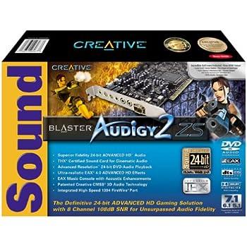 Creative Labs Sound Blaster Audigy 2 ZS Internal Sound Card