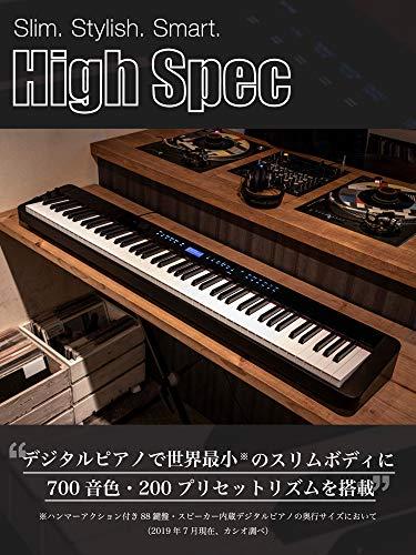 CASIO(カシオ)88鍵盤電子ピアノPriviaPX-S3000BK
