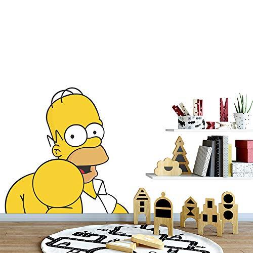 Bart Simpson Aufkleber Die Simpsons Charakter-Stil Homer Bart Lisa Marge Maggie Wandtattoo TV-Serie Aufkleber animiert