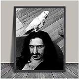 Tiiiytu Frank Zappa Poster Druck Rockmusik Legenden Vintage