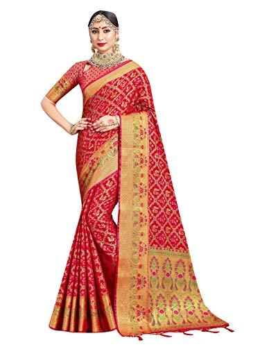 Sarees for Women Banarasi Art Silk Woven Indian Sari - Regalo de...