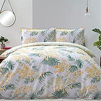 Fieldcrest 250 Thread Count Cotton Reversible Quilt Cover Set