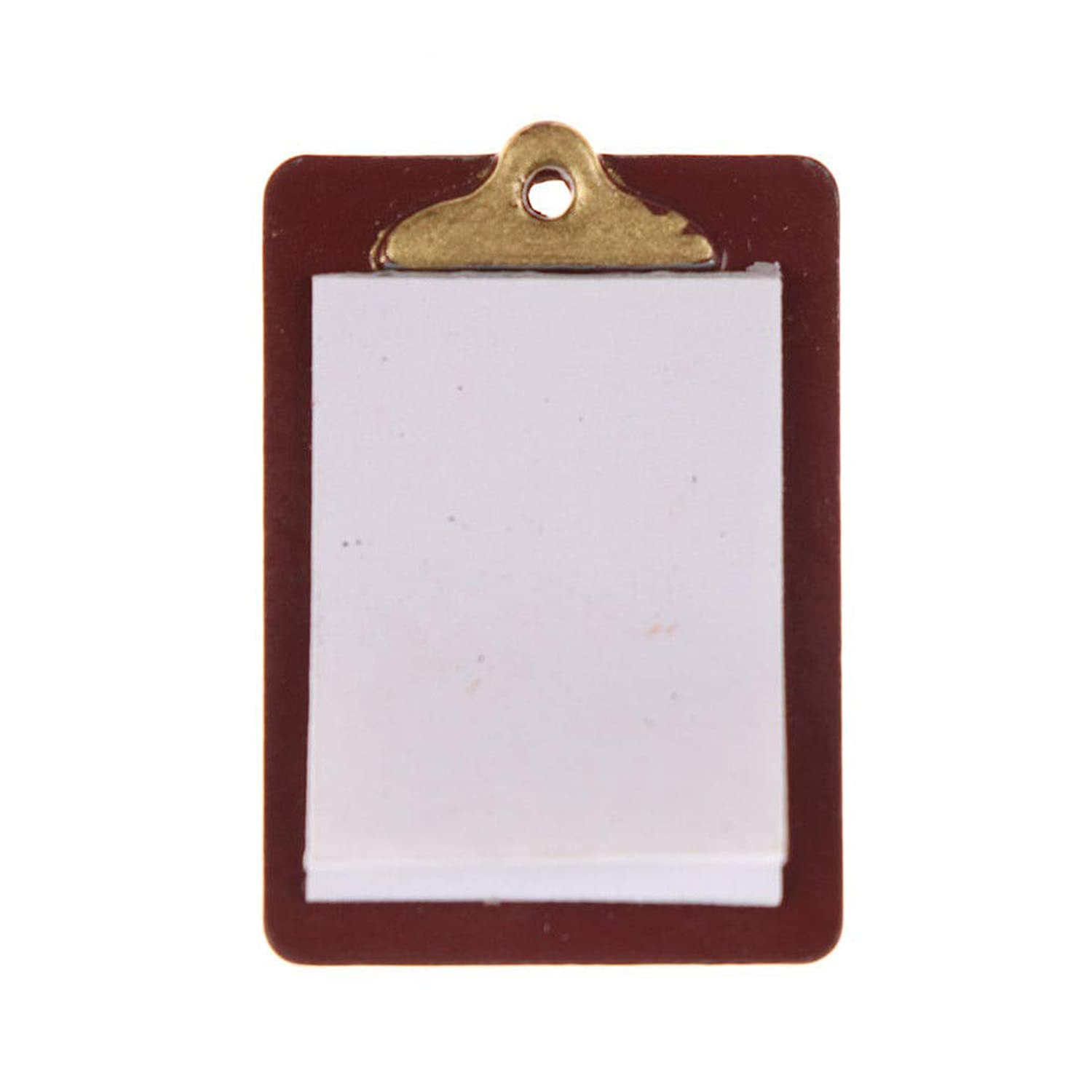 Mini Paper Clipboard for Dollhouse Playhouse Sale SALE% OFF – and Décor 2021new shipping free shipping
