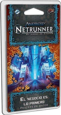 Android Netrunner LCG–Das Geschäft ist das erste, Kartenspiel (Edge Entertainment edgadn31)