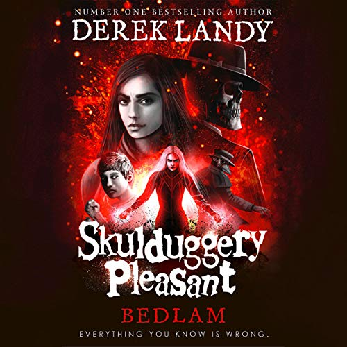 Bedlam audiobook cover art