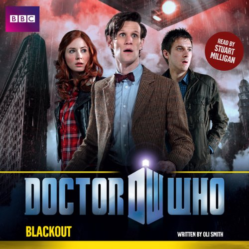 Doctor Who: Blackout audiobook cover art