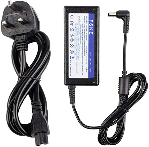 FSKE 45W 19V 2.37A Laptop Charger Power Supply for ASUS X555L N55S E200H K53S K52F X550 X550C X551C X552C X501A X401A K55A X551M X751S N17908 V85 AD883220 Adapter 5.5 * 2.5mm