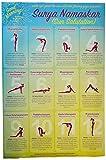 Yoga Sun Salutation Poster Print (24 x 36) (Unframed)