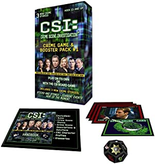 Specialty Board Games CSI: Crime Game Booster Pack