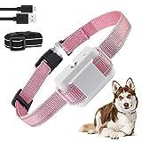 Dog Bark Collar, Anti-Bark Dog Spray Bark Collar with Auto-Barking Detection, No Shock Adjustable Sensitivity, Humane, Rechargeable Waterproof for Small Medium Large Dogs