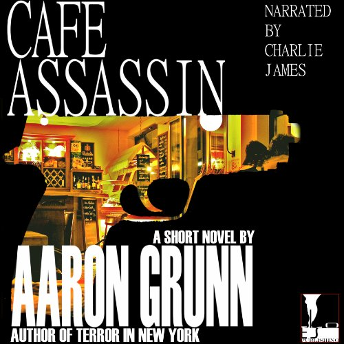 Cafe Assassin audiobook cover art