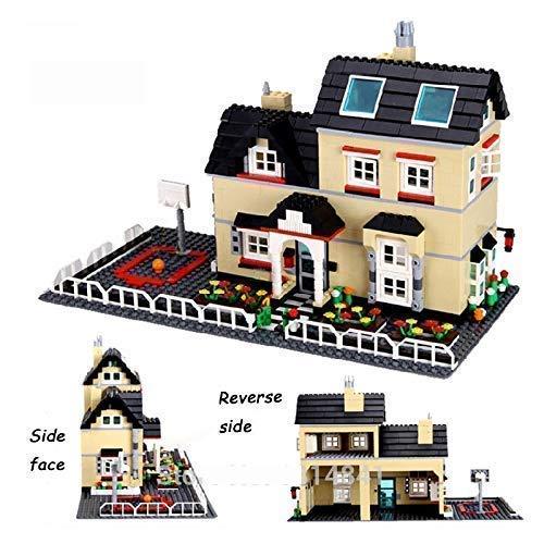 Ingenious Toys Groß Villa Haus Spielset - Familie Zuhause Freunde Stadt Kreator - Passend Bricks #34052