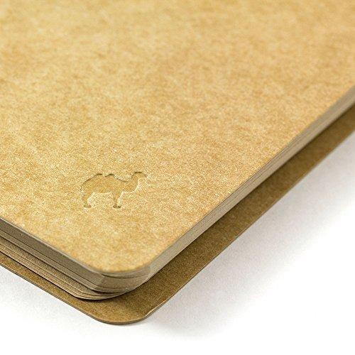 Green spiral ring notebook <A6surimu> Mukei desert camel pattern (japan import) Photo #4