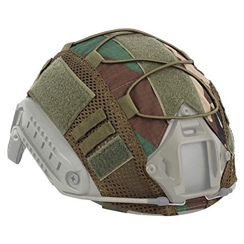 1PC Casco Copertura Casco Mesh Casco Coperchio Coperchio Accessori Casco per Outdoor Airsoft Paintball Gear Camouflage WL Style