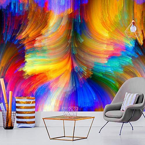 Pintura al óleo psicodélica Tapiz de Setas Bohemia Sol Flor Pulpo Colgante de Pared Sala de Estar Cama hogar al por Mayor Paquete Postal-Negro_Los 300x180cm