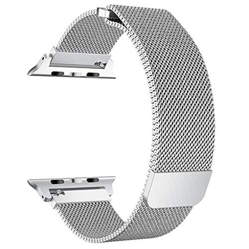 Pulseira Apple Watch 4Life Milanese Loop 38mm Prata