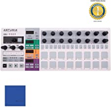 Arturia BeatStep Pro Controller and Sequencer, white, S with Microfiber and 1 Year Everything Music Extended Warranty