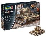 Revell RV03267 12 Modellbausatz 03267 Flakpanzer IV Wirbelwind (2 cm Flak 38), Militär-Bausatz im Maßstab 1:72, Level 4, originalgetreue Nachbildung mit...