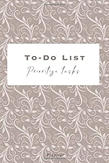 To-Do Llist - Prioritize Tasks - Planner: Track, organize your Agenda | 140 pages with Checkboxes, Priority Tasks, Importa...