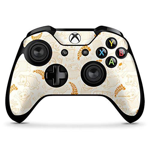 DeinDesign Skin kompatibel mit Microsoft Xbox One X Controller Aufkleber Folie Sticker Sorgenfresser Figur Fanartikel Merchandise