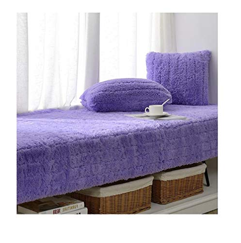 Yanxinejoy vensterbank-kussen, tatami-mat voor balkon, met deken, kussenovertrek voor vensterbanken, machinewasbaar 70 * 180CM A5