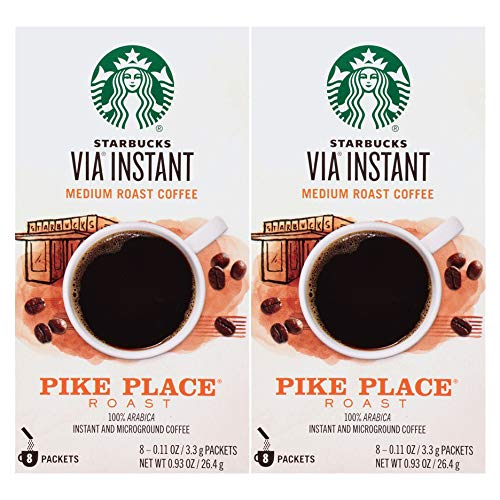 Starbucks VIA Ready Brew Pike Ranking Limited price TOP14 Place Roast - Coffee Pack 12 Count