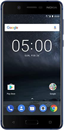 Nokia 5 - Android 9.0 Pie - 16 GB - 13MP Camera - Dual SIM Unlocked Smartphone...