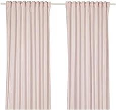 HANNALILL Curtains, 1 pair, pink