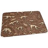 Babydesign Wickelauflage,Dino Skeletons Fossils Langlebige Premium Wickelauflagen Für Todller Krippenwagen 65x80cm