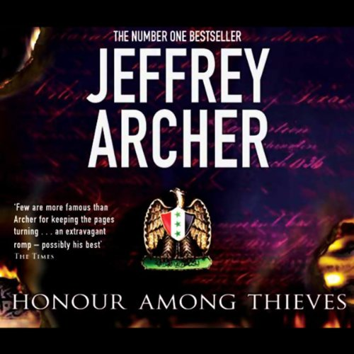 Honour Among Thieves audiobook cover art