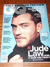 GQ Magazine Back Issue July 2002 Jude Law Cover