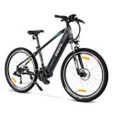 ESKUTE E-Bike Mountainbike 27,5' Pedelec,Voyager Pro' 250W BAFANG Mittelmotor mit Lithium-Ionen-Akku...