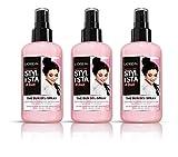L 'Oréal Paris Stylista Gel en spray de los Buns 200ml–juego de 3