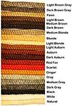 Crepe Wool Hair- Light Auburn Color for Doll Making or Theatrical Uses (False Beard or Mustache)