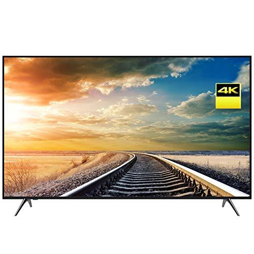 Home appliances Smart TV 4K UHD con WiFi, TV LCD A Schermo Piatto Ultrasottile da 60 Pollici, Schermo in Vetro Temperato, Ricca Interfaccia TV