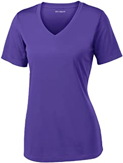 Joe's USA Women's Short Sleeve Moisture Wicking Athletic Shirts Sizes XS-4XL