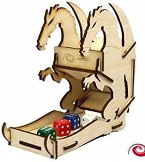e-Raptor ERA19042Drago Dice Towers Board Game, Piccolo