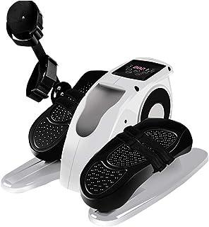 Under Desk Elliptical Pedal Exerciser, Electric Exercise Bike, Mini Cycling Trainer Stationary Exercise Leg Peddler, Porta...