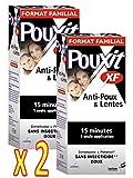 Pouxit XF-Tratamiento antipiojos, eficaz y rápido(lote de 2unidades x 200ml)