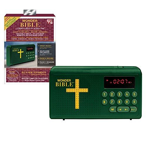 Wonder Bible RVR60 - El Reproductor de Audio de la Biblia Que Habla en español (La Biblia Reina-Valera 1960), como se ve en la televisión