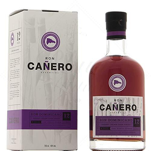 Ron Cañero Ron Cañero 12 Solera Ron Dominicano SHERRY CREAM CASK FINISH 40% Vol. 0,7l in Giftbox -...