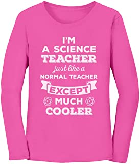 Science Gift for Teacher Funny Chemistry Women Long Sleeve T-Shirt