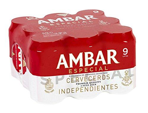 Bier Ambar Spezial 9x33cl (Pack 9 Dosen)