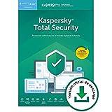 Kaspersky Total Security 2021 | 4 Dispositivos | 1 Año | PC / Mac / Android | Código de activación vía correo electrónico