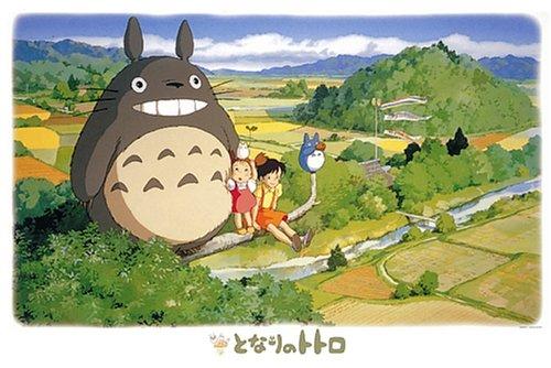 Ensky mi Vecino Totoro Sentado en el árbol Jigsaw Puzzle (1000-Piece)