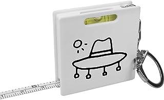 'Australian Style Hat' Keyring Tape Measure / Spirit Level Tool (KM00010544)